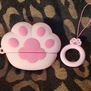 Paw Print Silicone AirPods Pro Case